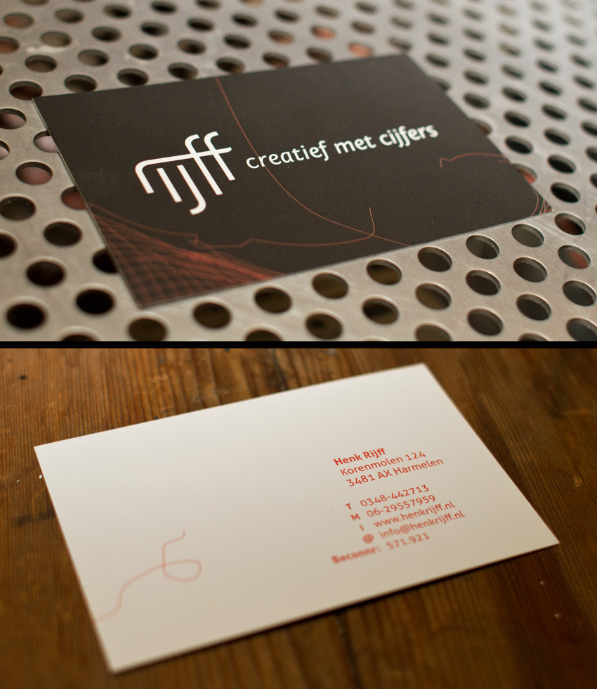Henk Rijff business card