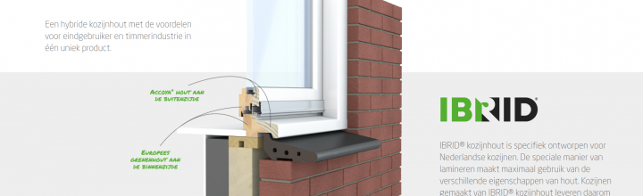 Ibrid window frame